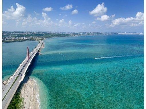 【沖縄・中城】モーターパラグライダー遊覧体験飛行!