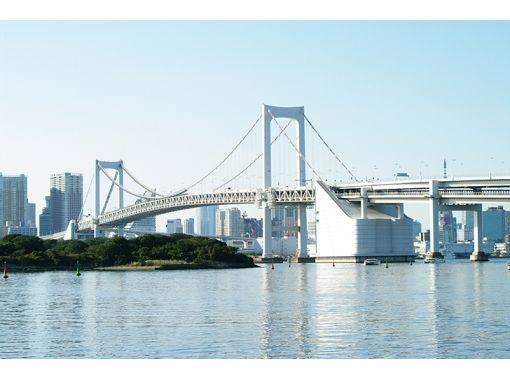 【東京・お台場】お台場唯一のSUP教室!初心者歓迎!レインボーブリッジを眺めながら絶景SUP体験♪