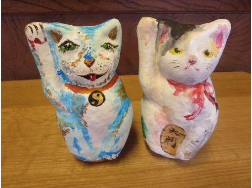 "【Hiroshima / Miyajima】""Tour of Aki"" COOL HIROSHIMA ""Maneki-neko (Beckoning Cat) Painting and Coloring of Momijitani Park 4 Seasons"" at Daisho-in Temple of Miyajima Misenの紹介画像"