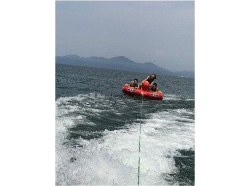 【滋賀・琵琶湖】マリンパック(水上バイクでウェイクボードとバナナボートが体験できるプランです。