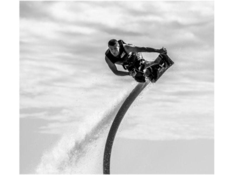 【山梨・山中湖】<お得セット>ホバーボード10分+ハリケーンボートの紹介画像