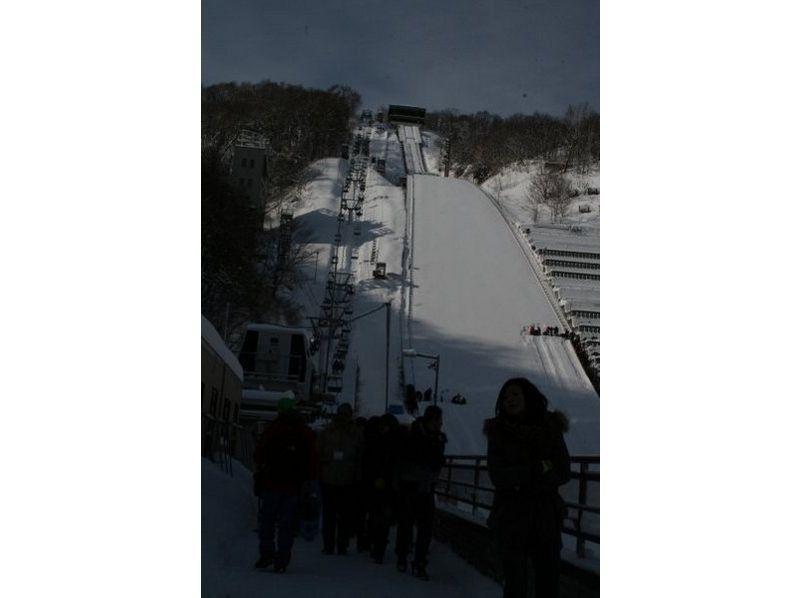 【北海道・札幌】スノーシューのんびり1日コース 八剣山ウォーキング(ガイド同行)の紹介画像