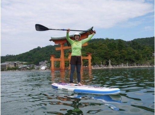 [Hiroshima / Miyajima] SUP empty-handed plan for the first time (from Miyajima Island)の紹介画像