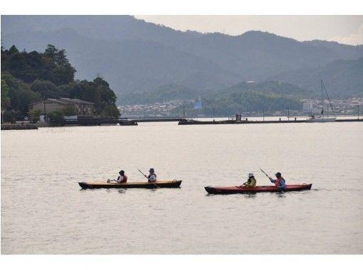 【Hiroshima / Miyajima】 Pukaku Kayak ♪ Otorii Courseの紹介画像