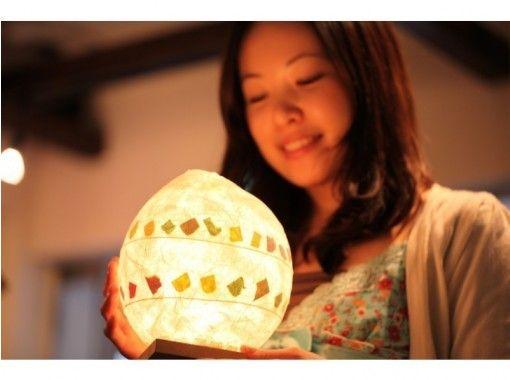 【大阪・梅田駅徒歩5分】☆和紙のあったか間接照明を手作り♪和紙で癒されるここち良い生活~地元であそぼう!♪~
