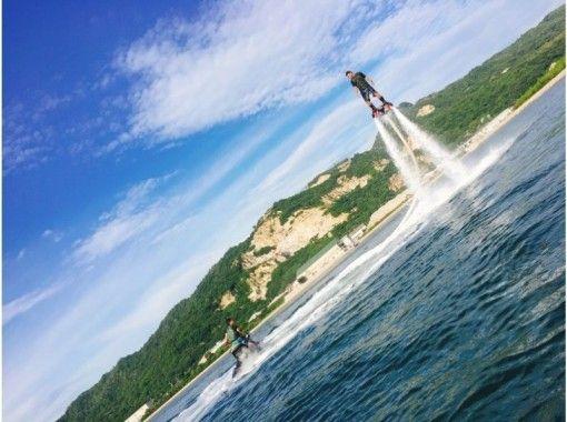 【香川・高松】子供から大人まで楽しみたい方に☆フライボード体験!通常コース20分