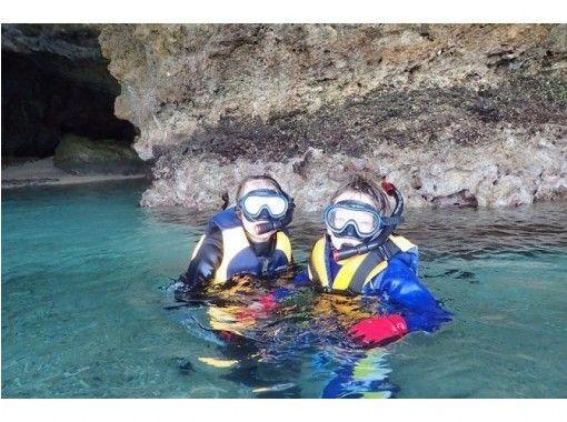 【沖縄・石垣島】Bコース・青の洞窟スノーケル体験&滝あそび!(半日コース・ドリンク付き)