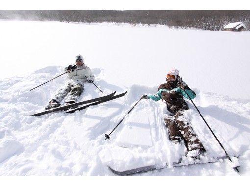 【東北・八幡平】クロスカントリースキー(半日ツアー)小学生からOK・自然を満喫・スキー経験不問!
