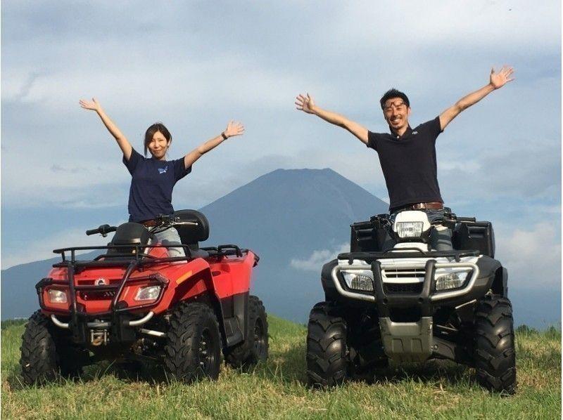 静岡・富士山で 四輪バギー