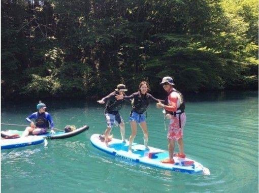 半日・SUPツアー!写真プレゼント!【群馬・みなかみ】水の上をお散歩しよう!(2名以上~)