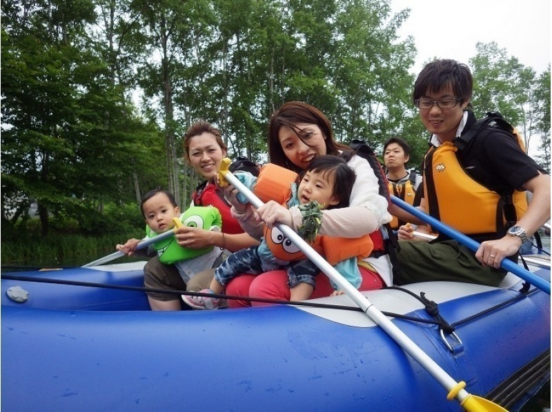 [Hokkaido Niseko] leisurely participation OK Introduction image from rafting tour ♪ 0-year-old