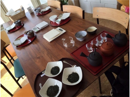 【京都・宇治・和束】世界で1つ♪オリジナル煎茶ブレンド体験(40gおみやげつき・英語OK)