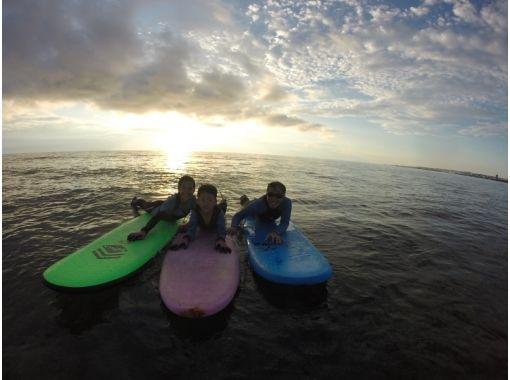 北谷でサーフィンスクール
