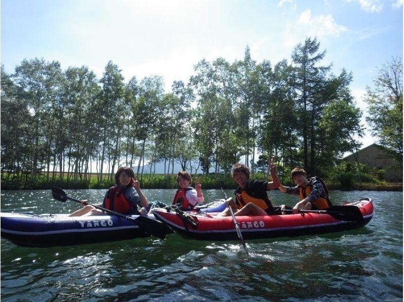 【北海道・ニセコ】のんびりカヌー(カヤック)ツアー♪3歳からOK!の紹介画像