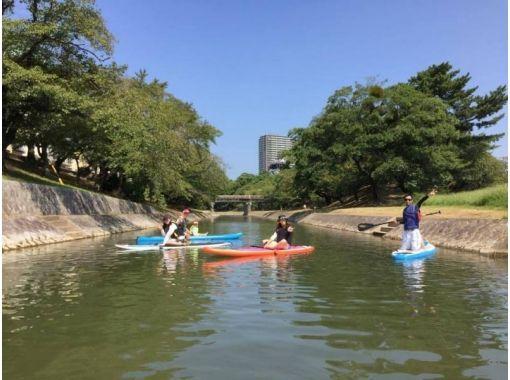 【愛知・岡崎市】SUP体験乙川クルーズ 2時間コース!乙川でSUPを楽しもう!