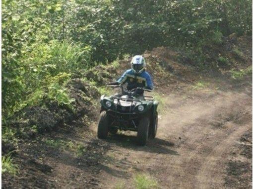 【北海道・登別】四輪バギー1日コース(コースレンタル・車両持込)