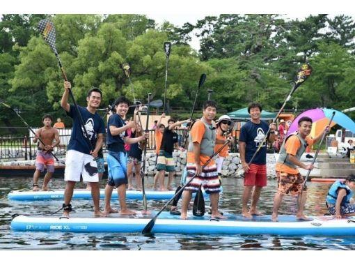 【愛知・岡崎市】BIG SUPクルーズ!漕いでもヨシ!くつろぐもヨシ!30分コース!