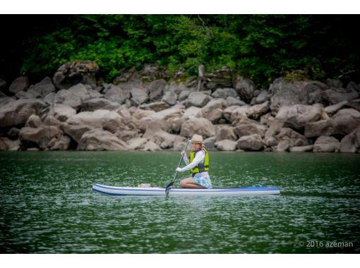 【長野・志賀高原】標高1400メートル!避暑地での琵琶池SUP体験 ♪ 半日コース