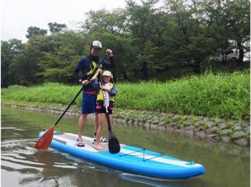 【愛知・蒲郡竹島】SUP体験タンデム(2人乗り)2時間コース!ワンちゃんと一緒にSUPを楽しもう!の紹介画像