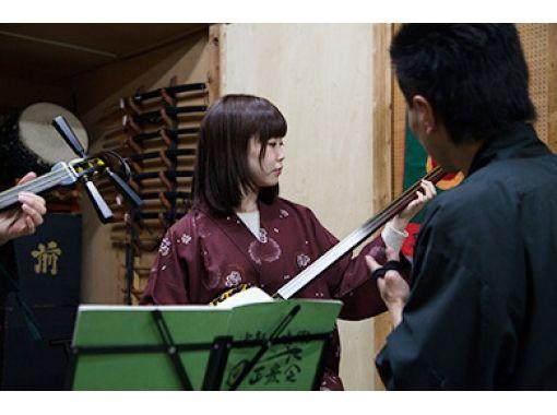 【東京・墨田区】浅草・スカイツリーからもすぐ!日本伝統文化の「三味線体験」団体最大70名様まで歓迎!の紹介画像
