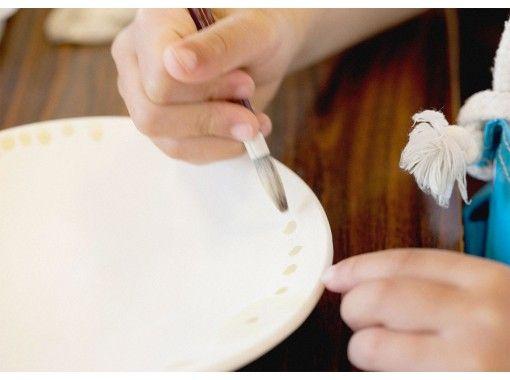 【岡山・瀬戸内市・牛窓】陶芸体験・美しいブルーの絵付け!ゴス絵付けコース・最大100名OK