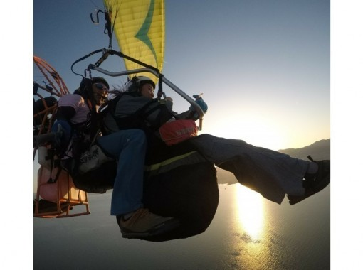 [Shiga Prefecture Lake Biwa] Fly over Lake Biwa with Paragliding! Tandem flight experience course (with Gopro free commemorative photo)の紹介画像