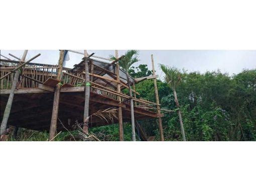 【沖縄・南部】海と森に囲まれたツリーハウスでフットケア