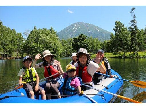 【北海道・ニセコ】0歳からOK。1組限定 貸切り のんびりラフティングツアー♪ペットも一緒に!の紹介画像