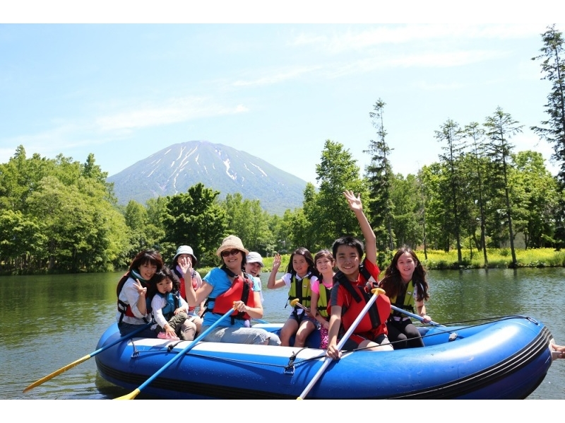【北海道・ニセコ】のんびりラフティングツアー♪貸し切りでペットもOK!の紹介画像