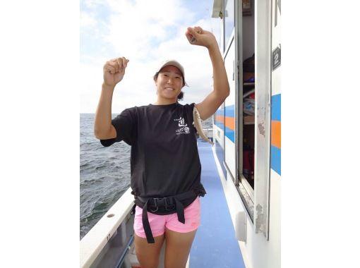 """[神奈川/金澤八景]初學者,女性都歡迎!讓我們享受釣魚的樂趣:""""上午:白鷺,下午:白鷺""""の紹介画像"""