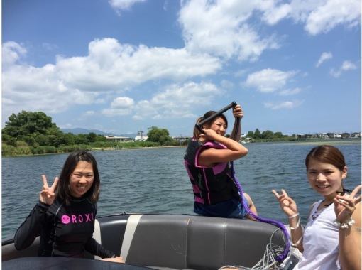 【滋賀・琵琶湖】☆平日初回限定☆ウェイクボード特別体験プラン♪♪