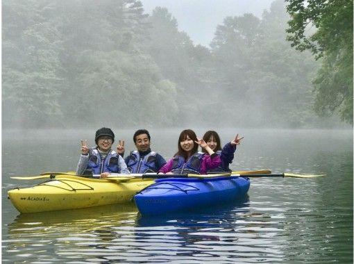 【桧原湖カヌー体験】6:00集合!早朝体験コース 参加者の初チャレンジ率95%!