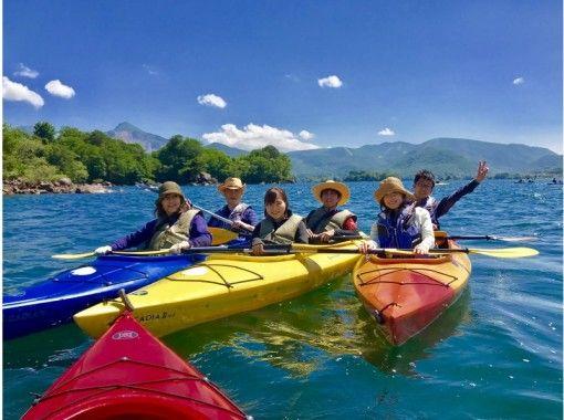 【桧原湖カヌー体験】12:30集合!午後半日コース 参加者の初チャレンジ率95%!