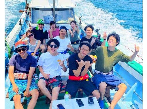 『うみんちゅ船長』と行く!半日船釣り体験ツアー![初心者・お子様にも!]