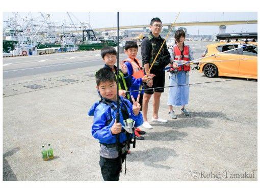 【青森・八戸】手ぶらで大物狙い「海釣り体験」初心者・女性・お子様大歓迎!ご家族で楽しめる!