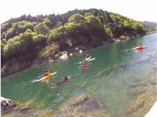 [Shikoku Yoshino River / Kochi] The royal road sports on the water! Kayak experience (90 minutes) with photo dataの紹介画像