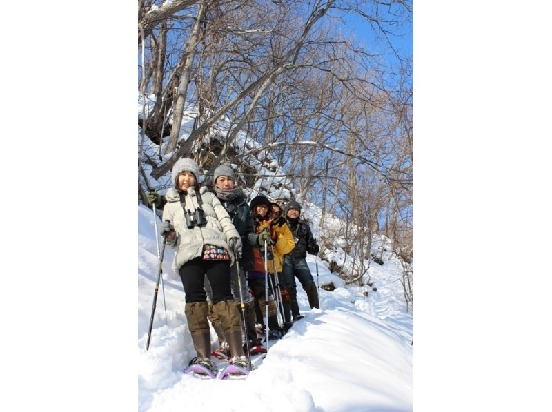 【北海道・網走】氷の滝スノーアドベンチャー!流氷と氷瀑のスノーシュートレッキングの紹介画像