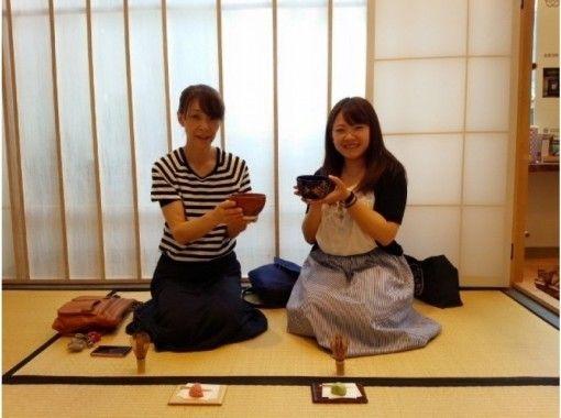 【石川県・金沢駅徒歩1分】モダンな茶室でお茶会体験★60分コース★