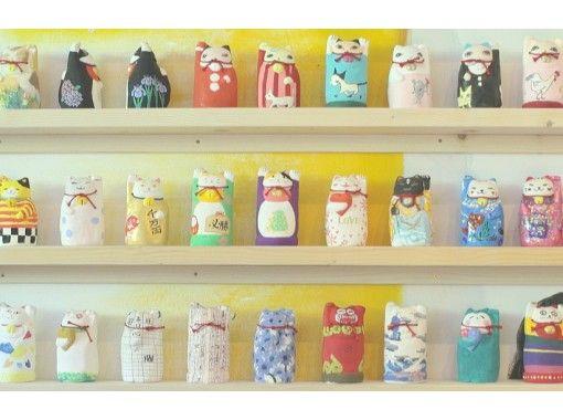 【岡山・金山寺】招き猫の絵付け体験・世界に一つだけの招き猫づくり!(60分)団体OKの紹介画像