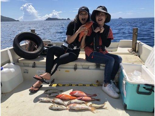 【奄美大島】手ぶらで船釣りツアー※半日コース※居酒屋へ魚持込可能!