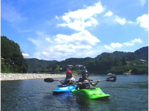 [Gifu Nagara] kayaking experience School (half day course) Capacity 5 peopleの紹介画像