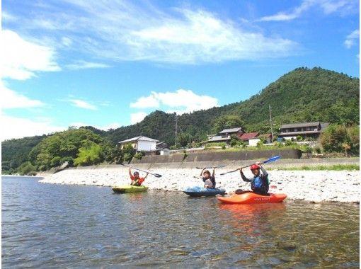 【岐阜・長良川】カヤック体験スクール(半日コース)定員5名の紹介画像
