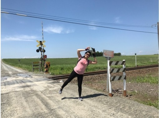 [Hokkaido ・ Anpe Town] ★ Female Recommended for ★ 1 Sun 10 people · cycling around the scenic rape field in cycling ♪ ♪ ♪の紹介画像