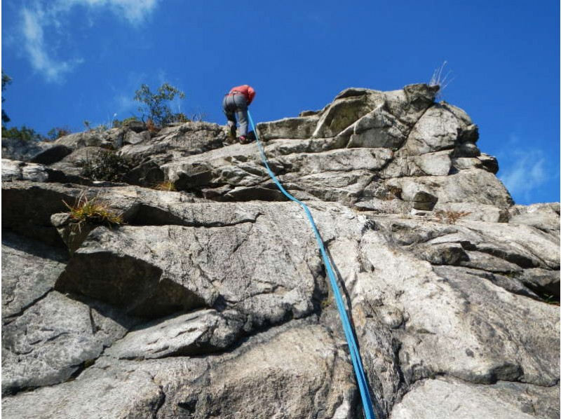 "[Thrilling authentic experience! ""Rock Trek"" Kyoto Konpirayama ver-1 (Y-ken-ridge) of the introduction image"