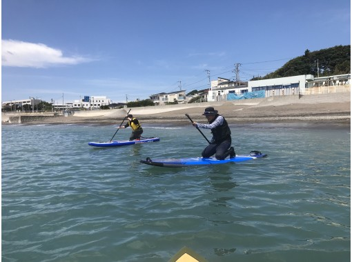 """<Chartered> 2-7 people group private, with SUP test 4th grade """"SUP Enjoy Master Plan (about 2 hours)""""の紹介画像"""