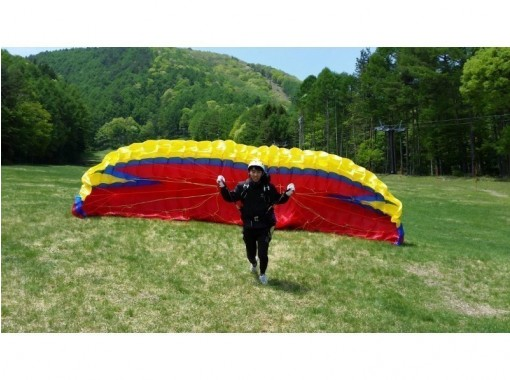 [Nagano /Fujimi Panorama] Challenge yourself, Paragliding half-day experience course! (Chuo Expressway/Suwa Minami IC Sug) Corona measures are being implementedの紹介画像