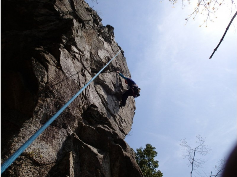 "[Thrilling authentic experience! ""Rock climbing"" Kyoto Konpirayama ver-3 Introduction to image"