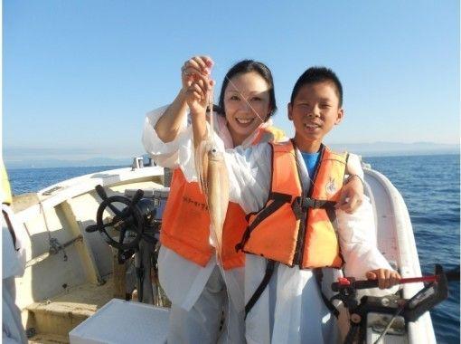 【北海道・函館】函館名物!イカ釣り体験プランの紹介画像
