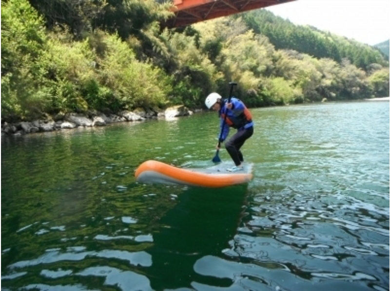 【四国・吉野川】気の向くままに川遊び♪リバーサップコースの紹介画像
