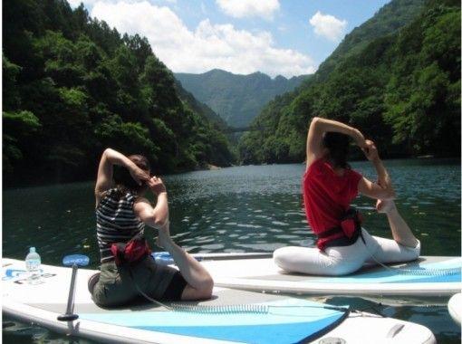 奥多摩YOGA on SUP(5/16、8/15、10/31開催)の紹介画像